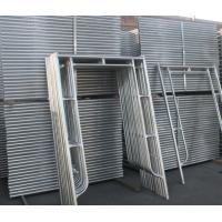 Buy cheap Construction Galvanized H Frame Scaffolding for Sale product