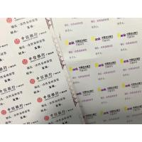 China Vinyl Paper Material Blank Eggshell Stickers 165 Gsm 80 Gsm With Custom Logo Printing on sale