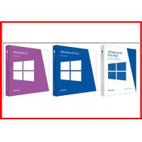Buy cheap Full Version 32 Bit / 64 Bit English Windows 8.1 Pro Retail Box Brand new product