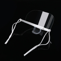 Buy cheap Lightweight Droplets Prevention Transparent Plastic Face Mask product