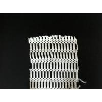Buy cheap Outdoor PET / NYLON Fabric Mesh Netting , Knitted White Mesh Clothing Shell Fabric product