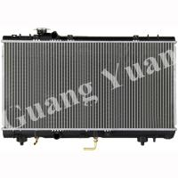 Buy cheap DPI 1750 Toyota Aluminum Radiator , Toyota Hilux Radiator Replacement PASEO 94 - 99 EL51 AT product