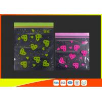 Waterproof Ldpe Resealable Small Ziplock Bags Colored Lip Printed Customized