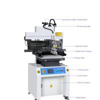Buy cheap High Accuracy Solder Paste Screen Printing Machine With Touch Screen product