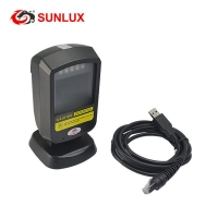 Buy cheap On Counter or Hands-free 2D Barcode Scanner Black Case USB cable from wholesalers