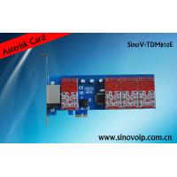 Buy cheap new analog card 8 fxs/fxo pci-e asterisk card for 2U classis high product