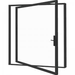 Buy cheap Narrow Frame Aluminium Pivot Doors Ventilating Two Sides Folding product