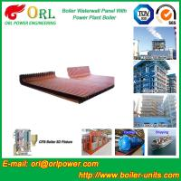 Buy cheap Biomass Boiler Water Wall Panels Anti Corrosion For Metallurgical Industry product