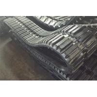 China Vibration Resistance Skid Steer Replacement Tracks Conventional / Interchangeable Type on sale