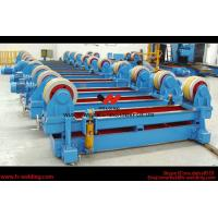 Buy cheap Automatic Pipe Welding Rotator Vessel Welding Turning Bed With Rubber Roller product
