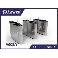 Buy cheap Turnstile Security Doors / Turnstyle Automatic Gates Stable DC Motor Drive product