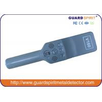 Buy cheap Anti - Skid Design Hand Held Metal Detector Advanced Inductive Charging Technology product