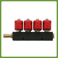 Buy cheap VALTEK Type  4Cyl LPG Injectors Rail with jets - Autogas CNG GPL 3Ohm product
