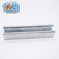 Buy cheap 41*21 / 41*41  steel galvanized strut channel Unistrut Slotted Channel product