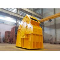Non - Key Connected Cobble Fine Crusher 132 Kw Adjustable End Products Sizes