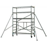 China Safe Durable Waterproof Aluminum Mobile Scaffolding Tower System / Aluminium Tower Scaffold wholesale
