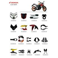 Buy cheap ABS Plastic Material Motorcycle Spare Parts Honda CB190R Corrosion Resistant product