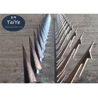 China Galvanized  Sharp Wall Security Spikes For Protecting Gates And Walls Fences on sale