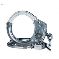 Buy cheap nickel plated police handcuff for police department & army institution product