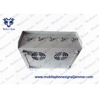 Buy cheap CDMA GSM 3G 4G Waterproof Outdoor Signal Jammer With Omni - Directional Antenna product