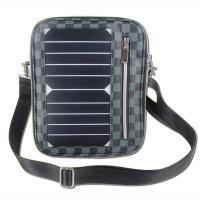 Buy cheap 5W Water Resistan Solar Charging Backpack With Solar Panel Black Color product