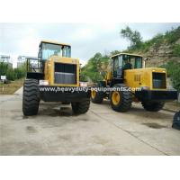 Quality 5 Tons Loading Capacity Wheeled Front End Loader 857 Model with Grass Grapple Cummins Engine for Option for sale