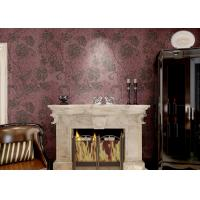 Buy cheap Removable Embossed Country Style Wallpaper / Vinyl Modern Wallcovering product