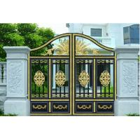 China Courtyard Gate garden plant accessories with Optional Model 120W 1200N 4.5m electric courtyard door carport on sale