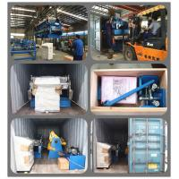 Cold formed steel frame prefab steel structure building interlocking standing seam profile roll formed machine