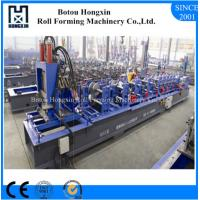 Buy cheap Steel CZ Purlin Roll Forming Machine For Roofing Sheet ISO Approval product