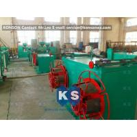 Buy cheap Stable Output Pvc Coated Gabion Mesh Machine , High Speed PVC Coating Line product