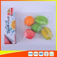 Buy cheap PE Clear Freezer Zip Lock Bags , Double Resealable Freezer Bags For Food product