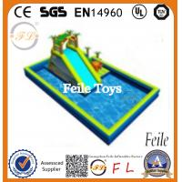 Buy cheap most popular and high quality giant inflatable water park slides For Sale product