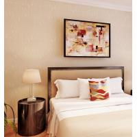 Buy cheap Solid Color Washable Modern Removable Wallpaper Economical PVC Wallpaper product