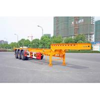 Buy cheap Gooseneck Container Trailer Chassis For 40 Feet Shipping Container product