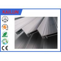 Quality Extrusion Aluminum Solar Panel Frame Profile with Silver Anodizing Treatment 40 mm * 35 mm for sale