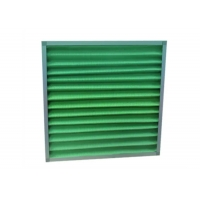 Buy cheap G1 G2 G3 G4 Efficiency Air Pre - Filter Pleated Panel Filter product