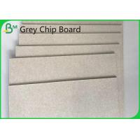 Buy cheap Waterproof Recycled Pulp Grey Chipboard 19 Inch / 72 Inch 1.0mm / 1.5mm product