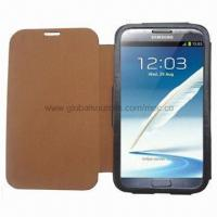 Buy cheap Leather Case Flip with Microfiber Liner, for Samsung Galaxy Note 2 product