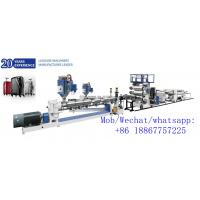Buy cheap high quality  suitcase plastic sheet ABS blister packing sheet extrusion line product