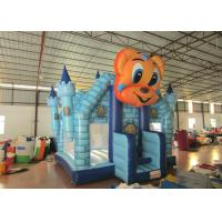 Buy cheap Cartoon Commercial Bounce House , Attractive Inflatable Bounce House 5 X 5m product