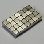 Buy cheap N35 Zn coating block sintered permanent neodymium magnet for loudspeakers product