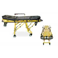 Buy cheap Medical First Aid Ambulance Stretcher Trolley Height Adjustable Hospital Device product