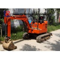 Buy cheap 1800kgs Walk Behind Mini Excavator with Cabin / Full Hydraulic Digging Machine product