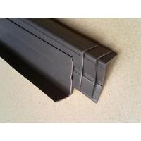 Quality 30x60mm anti-slip strip for stairs/non-slip stair nosing/PVC/soft/gray/any color for sale