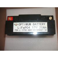 Buy cheap Lifepo4 Polymerlithium Car Battery For Golf Cart 12 Volt 20ah product