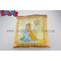 Buy cheap Personalized Cushions Plush Soft Spirit Yellow Kids Pillows product