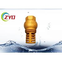 Buy cheap Vertical Brass Plumbing Valves Silencing Spring Lifting Type Spring Brass Core product