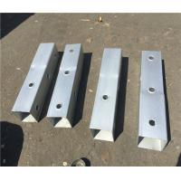 Buy cheap Gauge Perforated Square Tube Steel Fence Posts Q235 Material ASTM A1011 Grade 50 product
