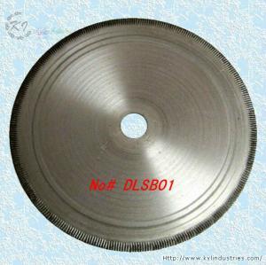 Buy cheap ダイヤモンドによって冷た押されたノッチを付けられた縁のLapidaryは瑪瑙の碧玉のオパール- DLSB01 --の切断については鋸歯を product
